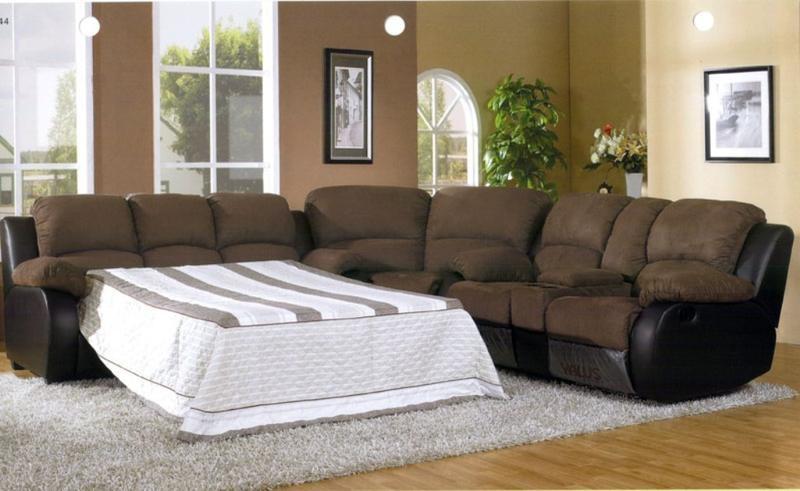 Elegant Sectional Sleeper Sofa Plushemisphere Pertaining To Sleeper Sectional Sofas (View 8 of 15)