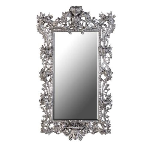 Enchantica Large Ornate Silver Mirror Throughout Elaborate Mirrors (#28 of 30)