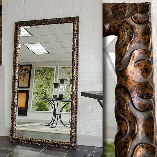 Enhance Your Room Beauty With Large Floor Mirror | Beautiful House For Large Bronze Mirrors (View 3 of 30)