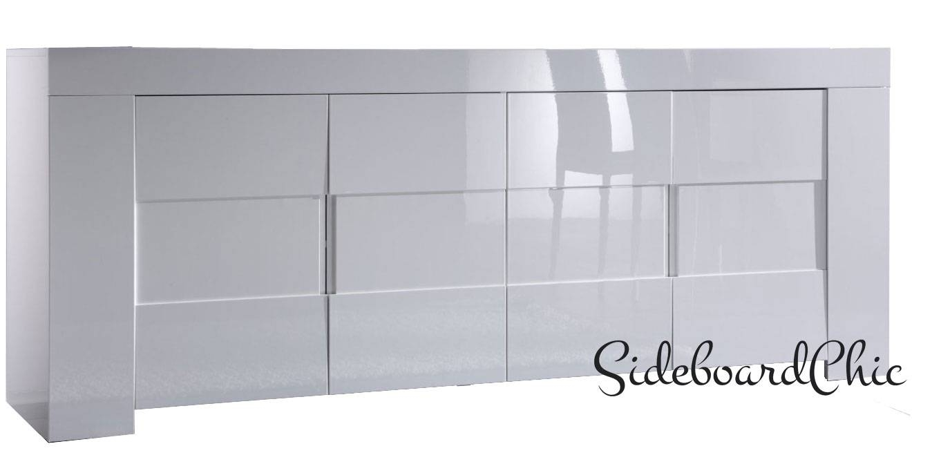 Eos White Sideboard – Sideboardchic Within Large White Sideboard (#4 of 20)