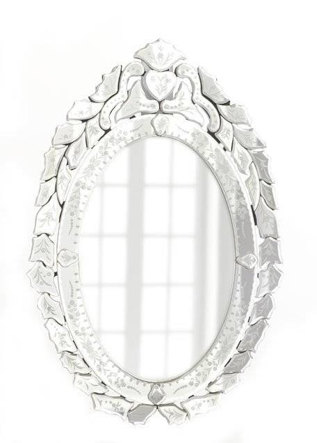 Ernhart Oval Venetian Style Mirror With Venetian Style Mirrors (#8 of 30)