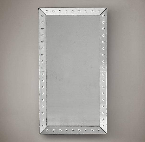 Etched Glass Dot Border Mirror Inside Venetian Etched Glass Mirrors (View 20 of 20)