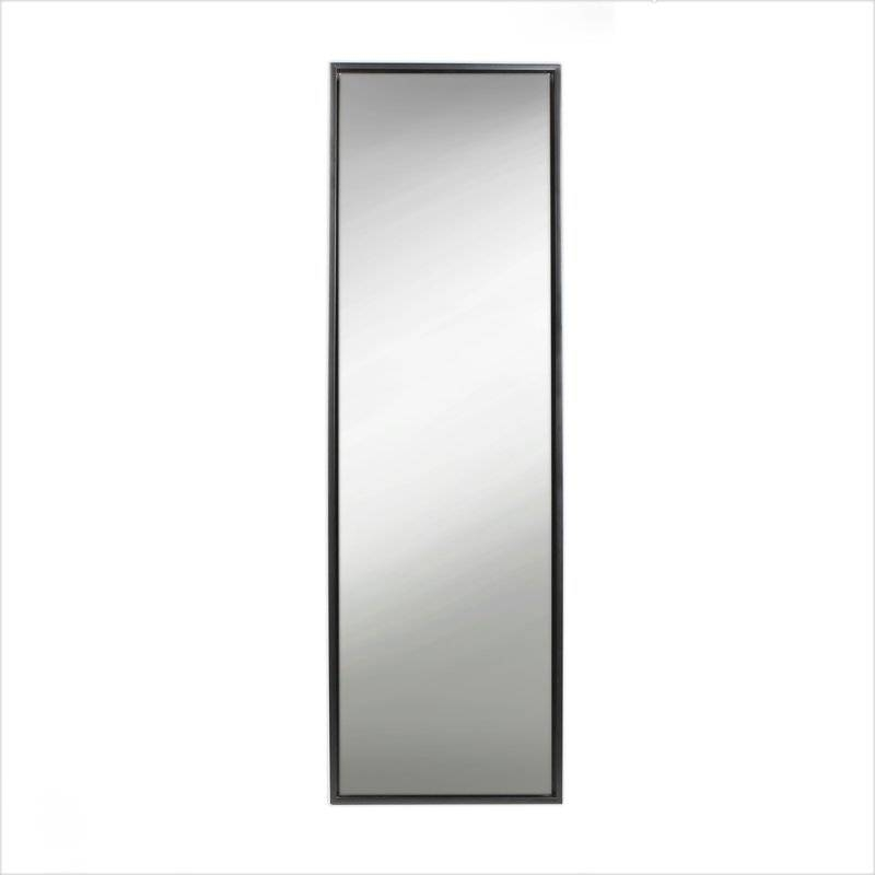 Evans Wood Framed Free Standing Mirror & Reviews | Allmodern Intended For Free Standing Mirrors With Drawer (View 12 of 20)
