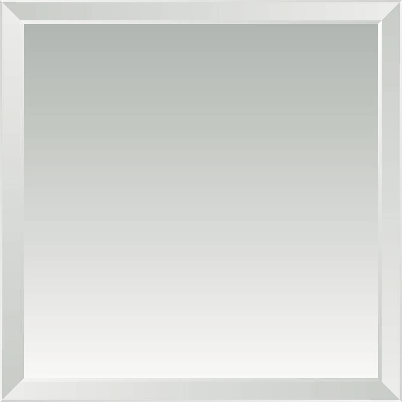 Everton 900 X 900Mm Polished Bevel Edge Mirror | Bunnings Warehouse Pertaining To Bevelled Mirrors (View 20 of 20)