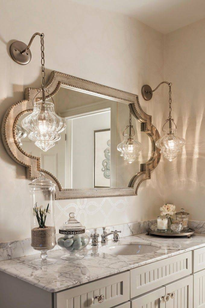 Excellent Idea Small Bathroom Mirrors Best 25 Small Ideas On Pertaining To Unusual Mirrors For Bathrooms (#12 of 20)
