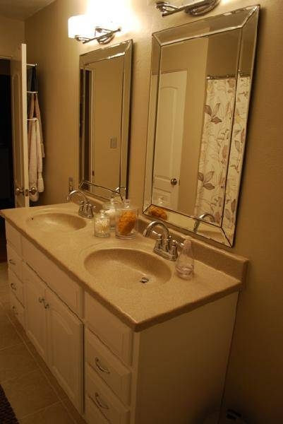 Exellent Beveled Bathroom Vanity Mirrors Dual Washstand With Legs Pertaining To Double Bevelled Mirrors (View 21 of 30)