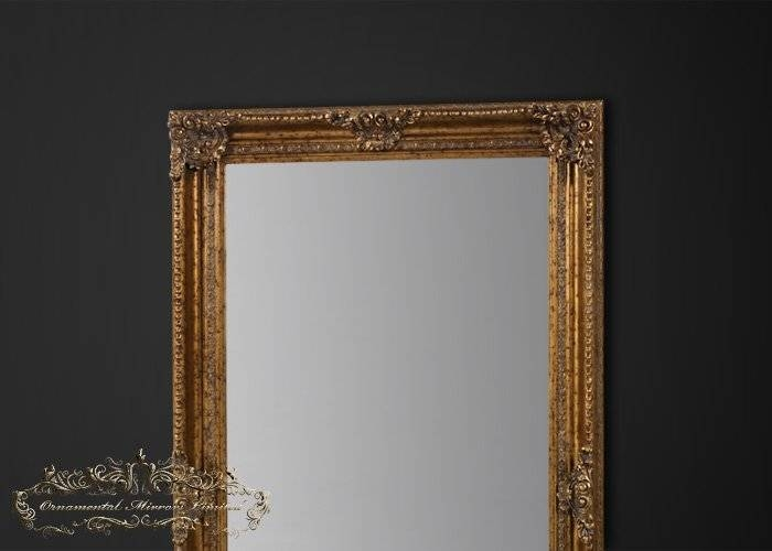 Extra Large Gold Mirror | Extra Large Antique Mirror For Extra Large Gold Mirrors (View 9 of 15)