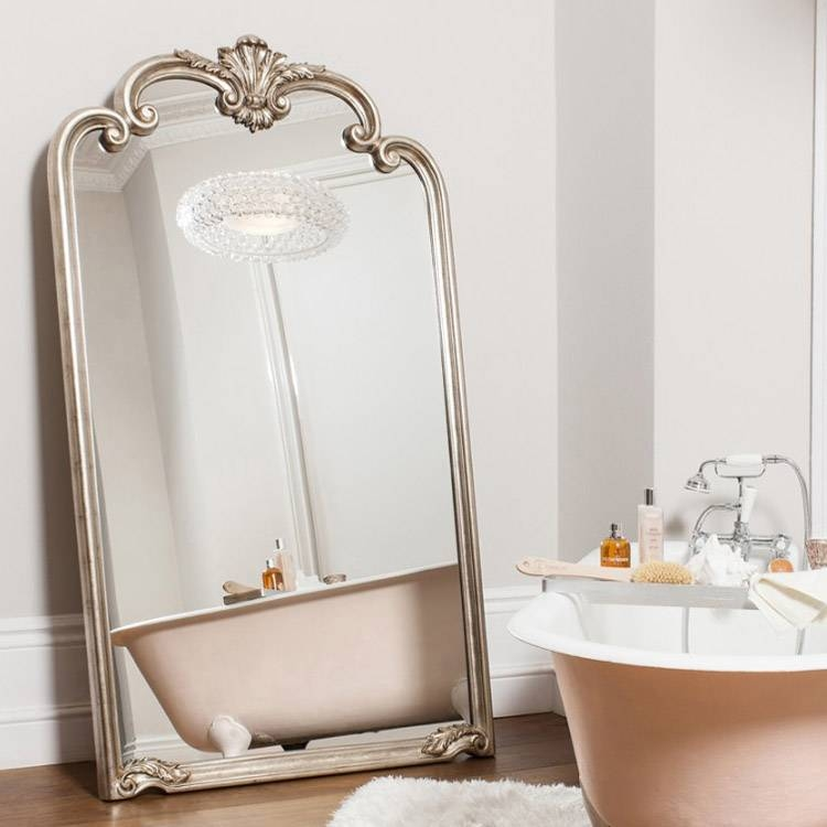 Extra Large Ornate Silver Abby Mirror 184 X 104Cm Extra Large For Ornate Silver Mirrors (View 16 of 20)