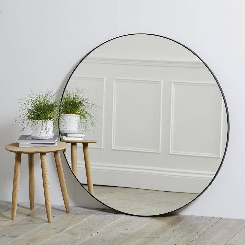 30 Best Collection Of Large Round Metal Mirrors