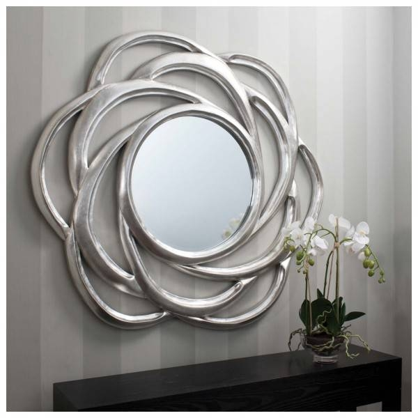 Extra Large Round Mirrors, Extra Large Round Wall Mirrors Large Throughout Circular Wall Mirrors (#8 of 20)