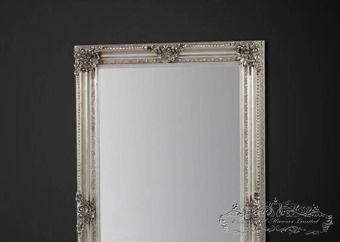 Extra Large Silver Mirror | Extra Large Mirror Pertaining To Large Ornamental Mirrors (View 7 of 15)