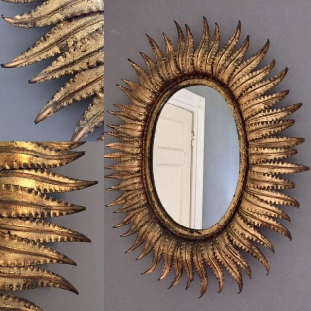 Extra Large Spanish Sunburst Mirror – Sold In Extra Large Sunburst Mirrors (#8 of 20)