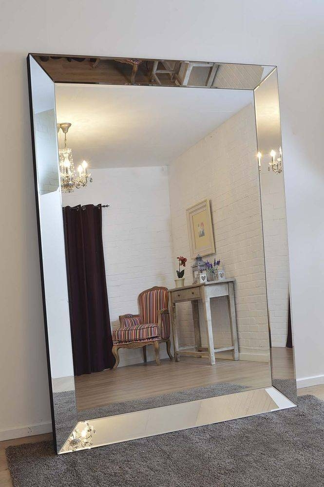 Extra Large Wall Mirror With Metal Frames (#13 of 20)