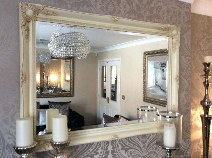 Extra Large Wall Mirrors – Amlvideo Regarding Large Cream Mirrors (#20 of 30)