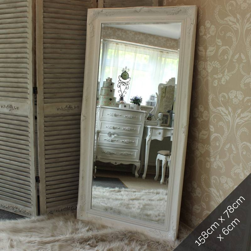 Extra Large White Ornate Mirror – Melody Maison® For White Ornate Mirrors (#11 of 20)
