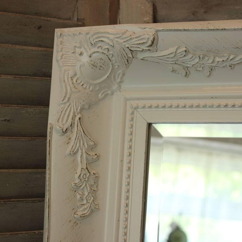 Extra Large White Ornate Mirror – Melody Maison® With Regard To Large White Ornate Mirrors (View 16 of 20)
