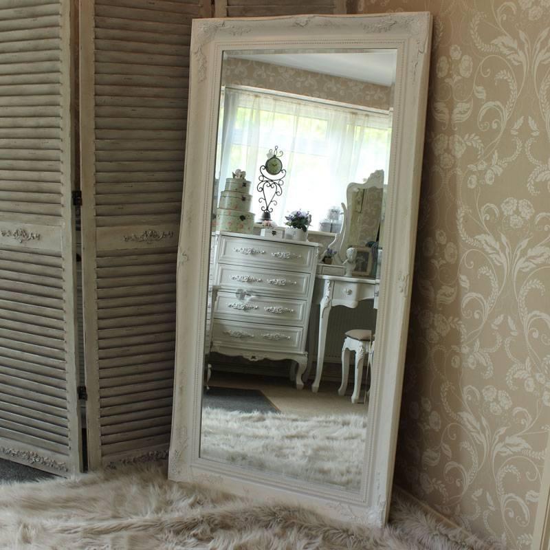 Extra Large White Ornate Mirror – Melody Maison® Within Large White Ornate Mirrors (#16 of 20)