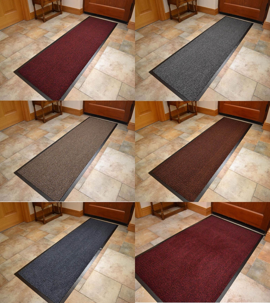 Extra Long Wide Non Slip Heavy Duty Rubber Narrow Hall Runner With Extra Long Hallway Runners (#7 of 20)