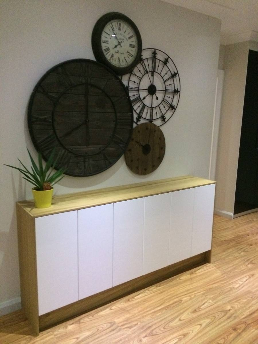 Faktum Wall Cabinets To Buffet/sideboard – Ikea Hackers – Ikea Hackers Inside Slim Sideboards (#9 of 20)