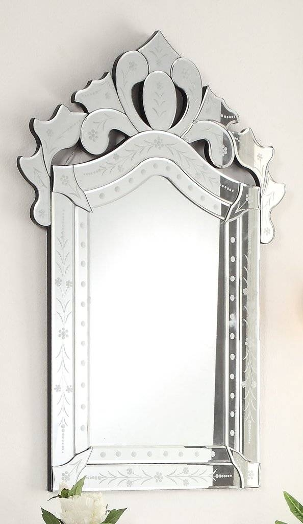 Ferarra 28 Inch Venetian Style Wall Mirror Ym 710 2840 | | Chans Intended For Venetian Style Mirrors (#9 of 30)