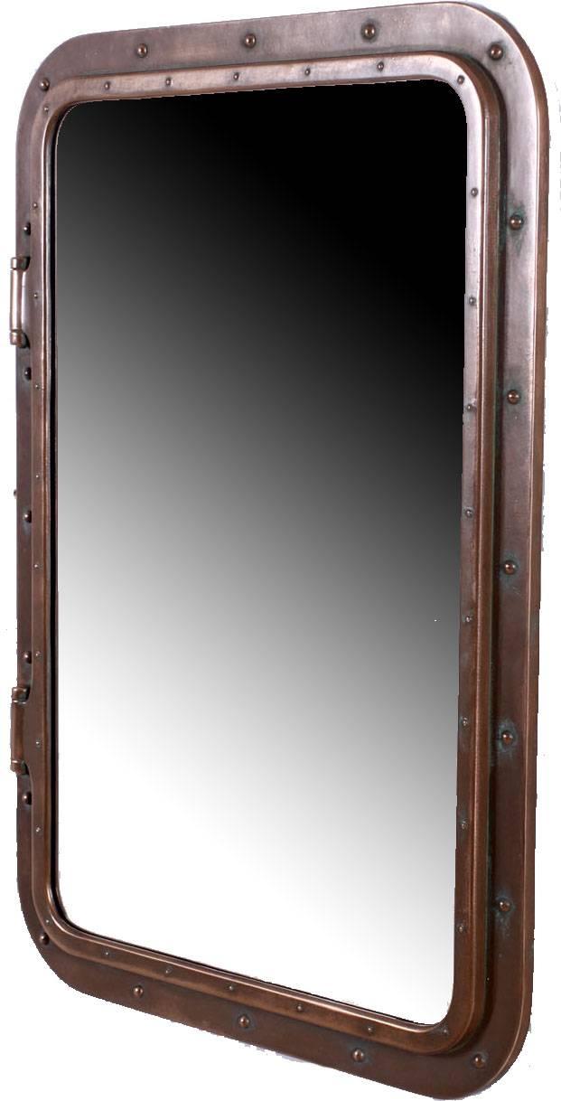 Fiberglass Resin Portholes Many Finishes With Regard To Porthole Style Mirrors (#8 of 20)