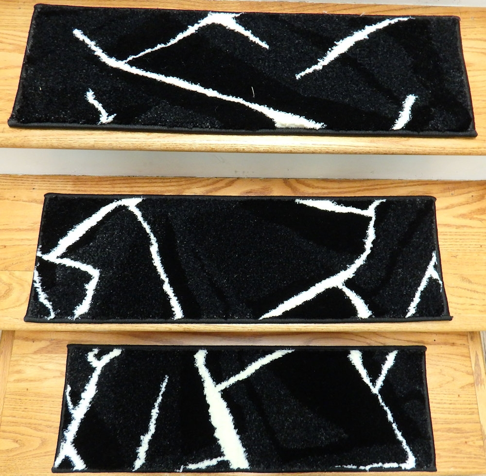 Finished Carpet Stair Treads Tread Sets For Stairs Carpet Treads Intended For Stair Tread Rug Sets (#11 of 20)