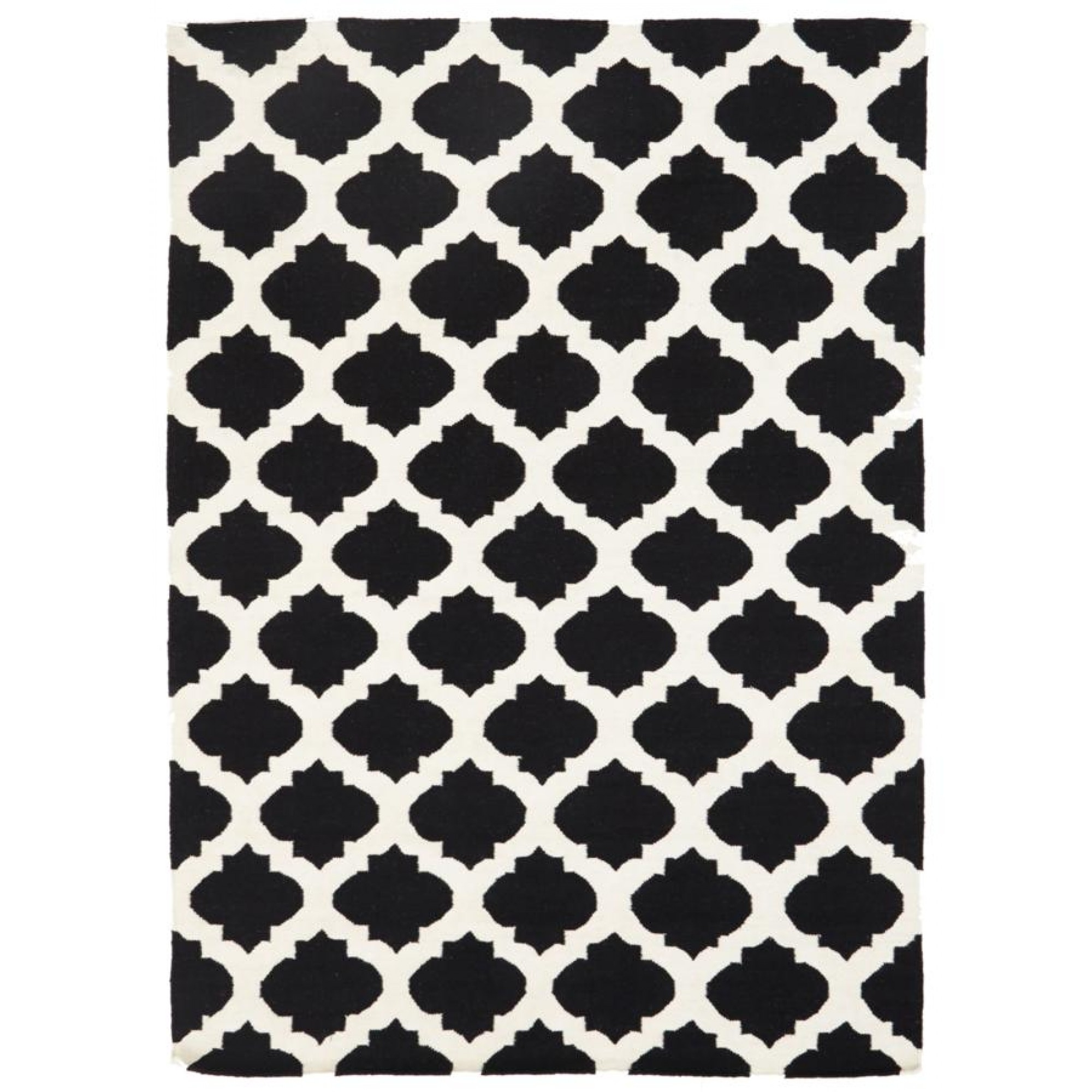 Flatweave Kelim Wool Rugs Free Shipping Australia Wide Also Kids Intended For Hallway Runners Black And White (#6 of 20)