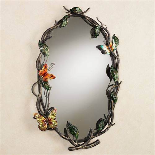 Flight Of The Butterfly Wall Mirror Within Butterfly Wall Mirrors (#17 of 20)