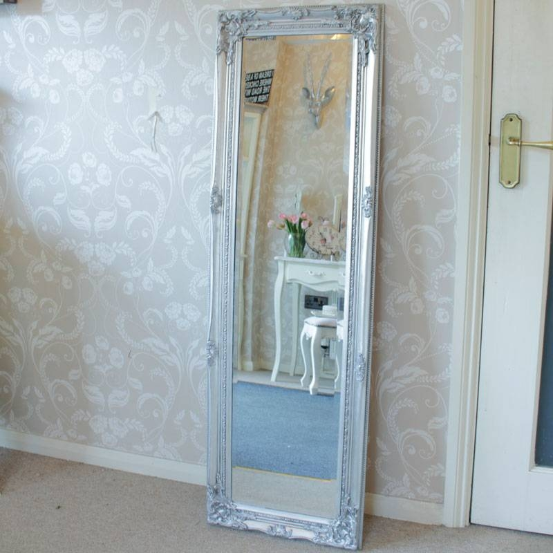Floor Mirrors – Melody Maison® With Regard To Tall Silver Mirrors (#7 of 20)