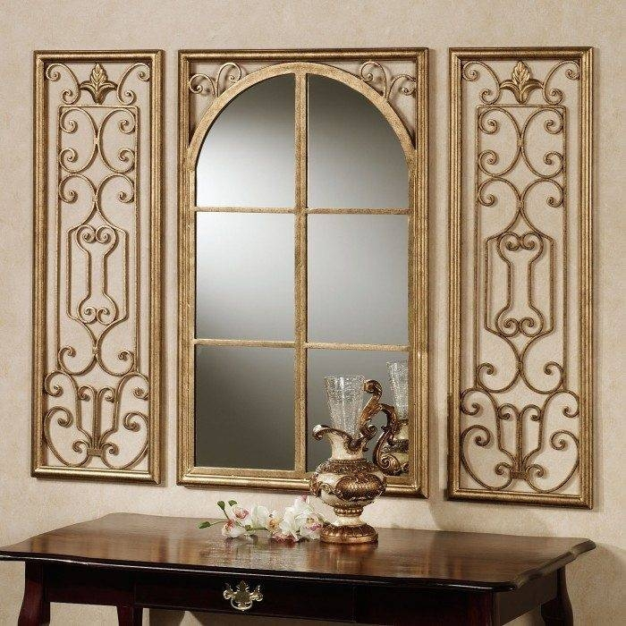 Viewing Photos of Wrought Iron Floor Mirrors (Showing 13 of 15 Photos)