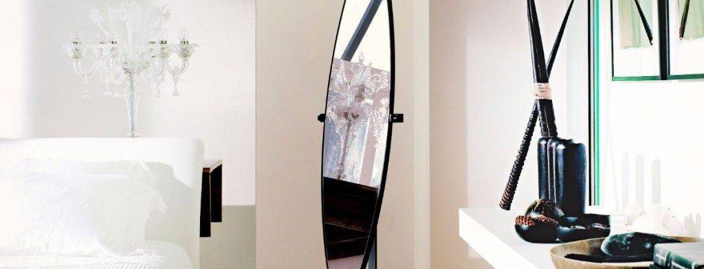 Floor Standing Mirror / Contemporary / Oval / Wrought Iron Throughout Wrought Iron Standing Mirrors (#5 of 20)