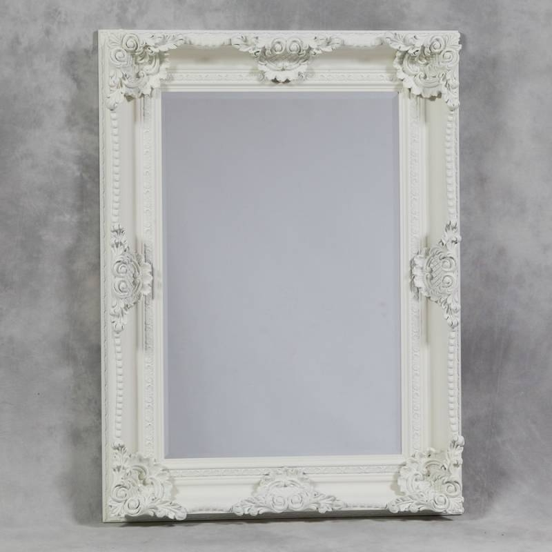 Floor Standing Mirrors Cheval Dressing Mirrors Rococo Mirrors With Regard To Shabby Chic White Mirrors (#19 of 30)