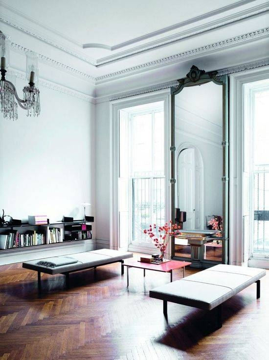 Popular Photo of Floor To Ceiling Mirrors