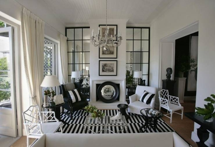 Floor To Ceiling Mirrors – Transitional – Living Room – John Jacob Intended For Floor To Ceiling Mirrors (View 11 of 20)