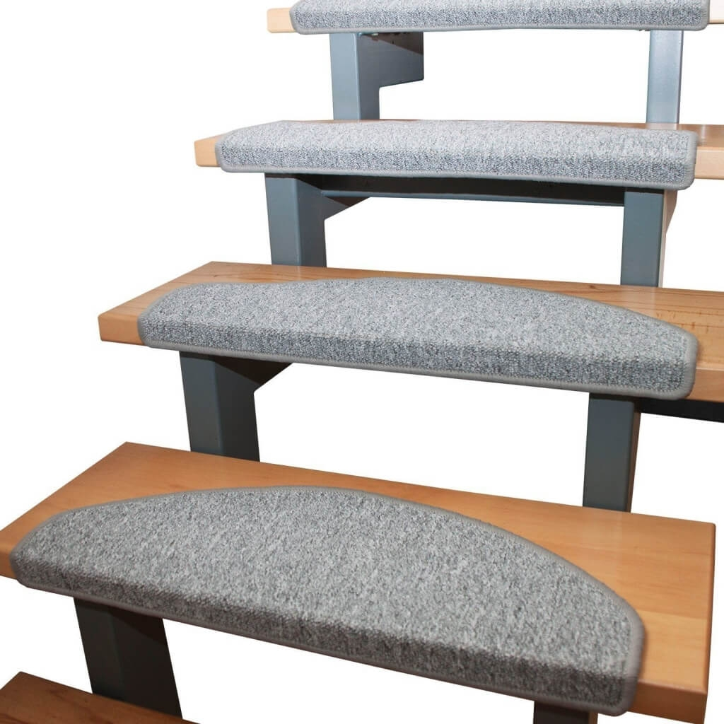 Flooring Flexible Carpet Non Slip Stair Treads Non Slip Rubber Intended For Individual Stair Tread Rugs (View 10 of 20)