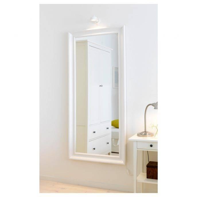 Flooring : Floor Mirror Ikea Large Full Length Mirrorikea Silver Regarding Full Length Frameless Mirrors (#6 of 20)