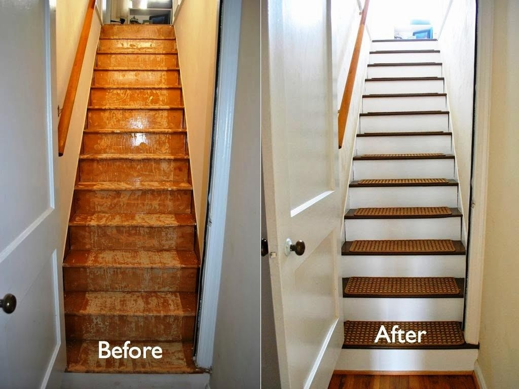Flooring Pretty Stair Treads Carpet For Stair Decoration Idea Pertaining To Non Slip Carpet For Stairs (#10 of 20)