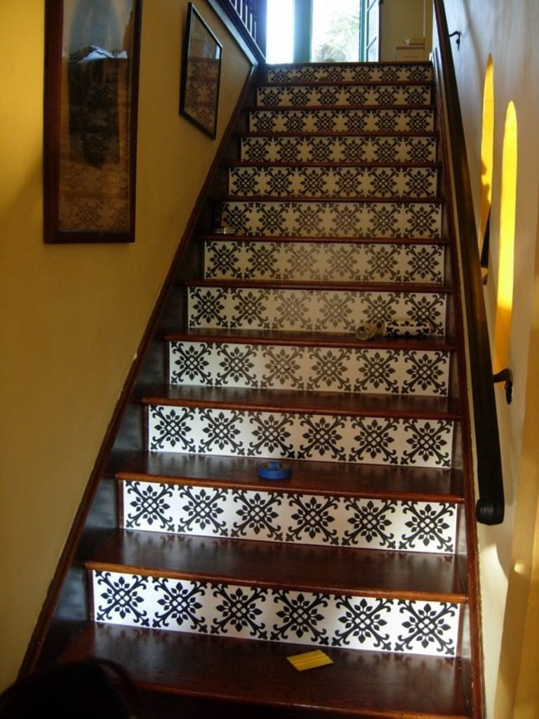 Flooring Pretty Stair Treads Carpet For Stair Decoration Idea Pertaining To Wool Stair Rug Treads (View 14 of 20)