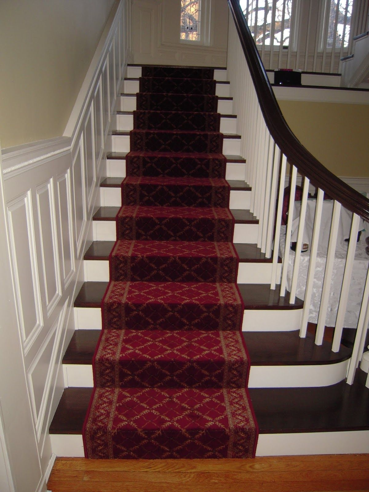 Flooring Pretty Stair Treads Carpet For Stair Decoration Idea Throughout Oriental Rug Stair Treads (#8 of 20)