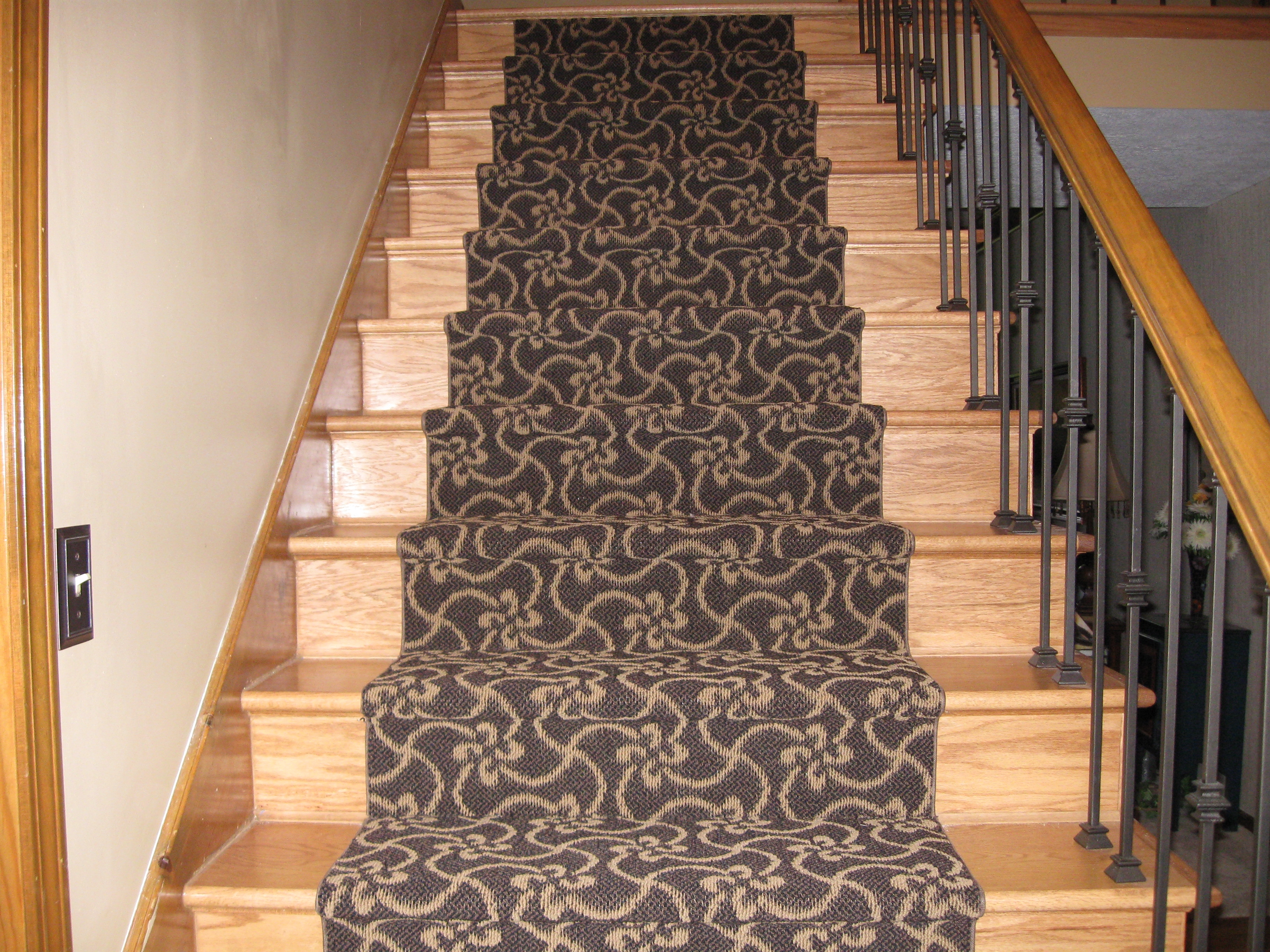 Flooring Pretty Stair Treads Carpet For Stair Decoration Idea With Carpet Stair Treads For Dogs (#13 of 20)