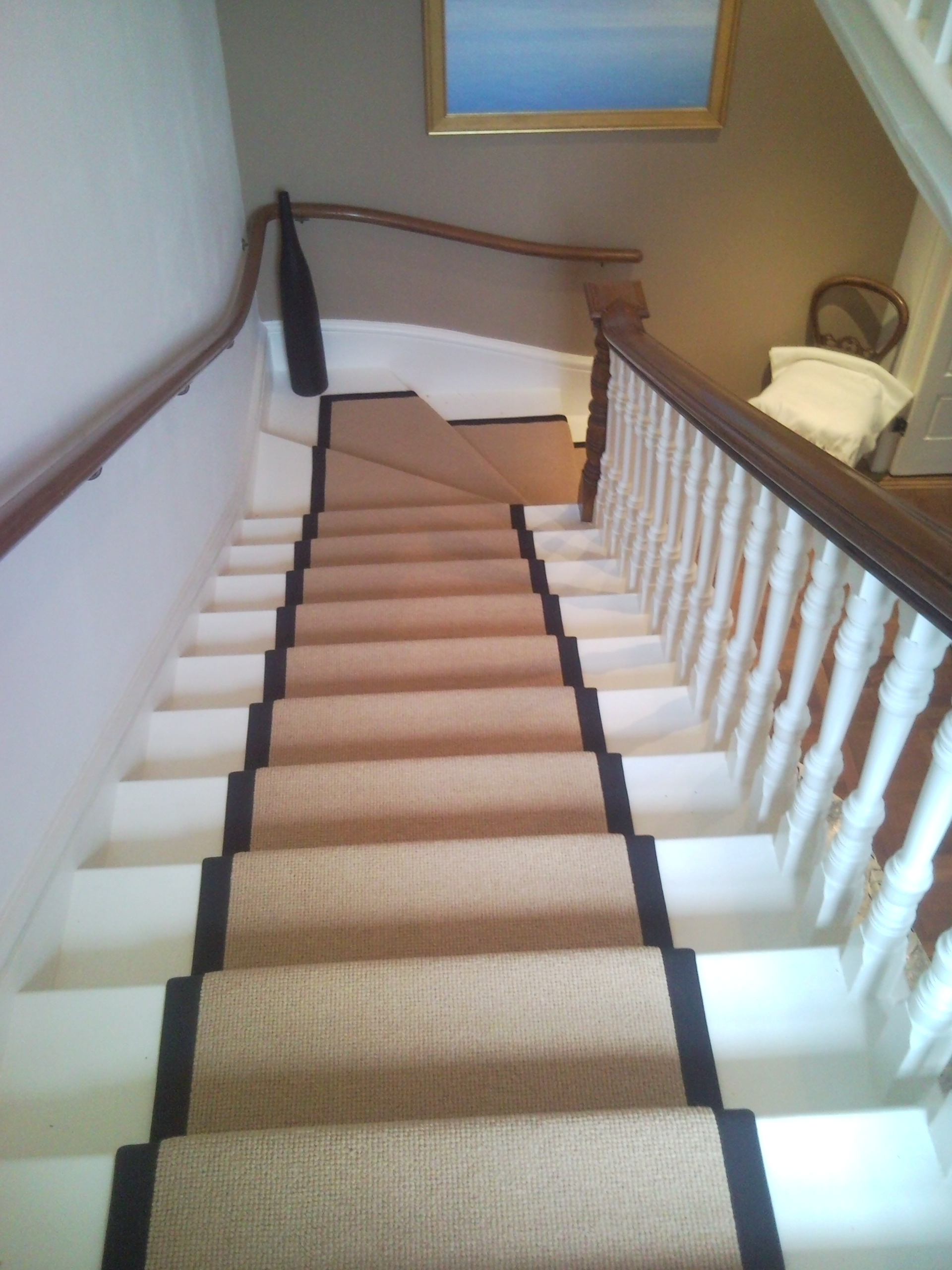 Flooring Pretty Stair Treads Carpet For Stair Decoration Idea With Stair Tread Carpet Pads (#10 of 20)
