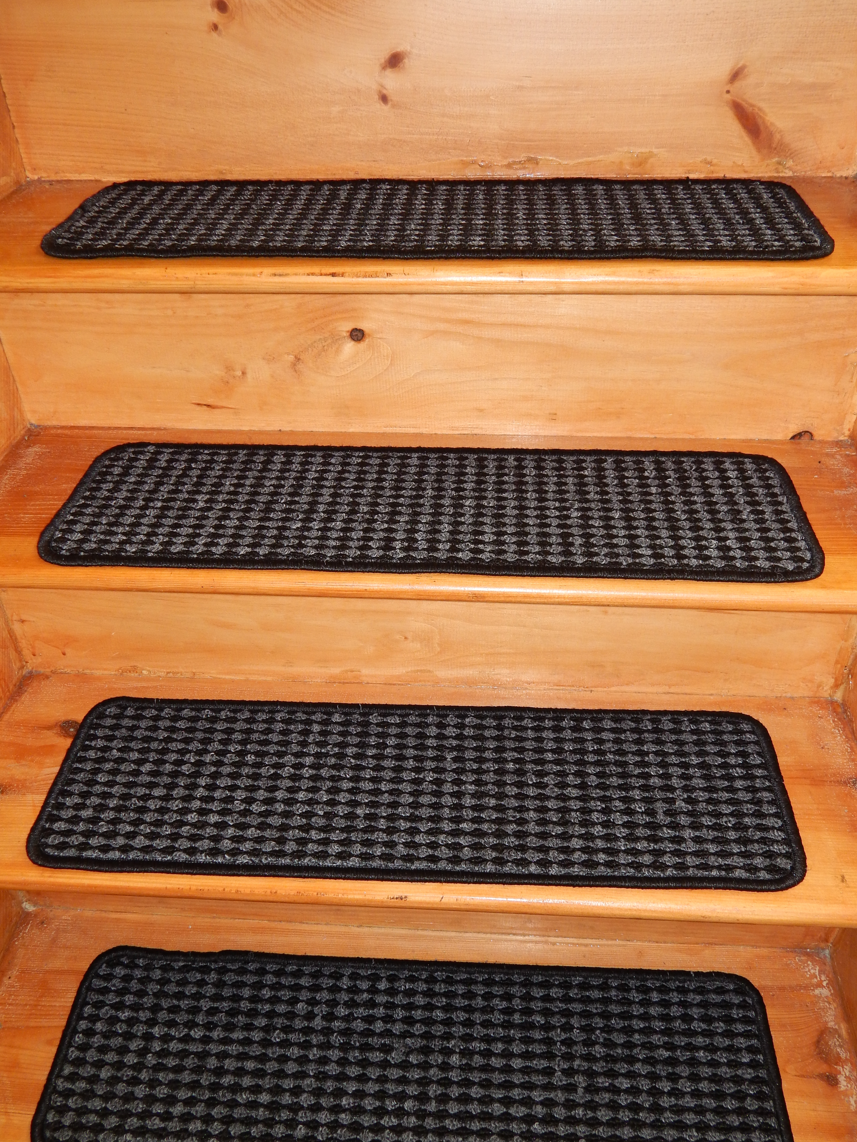 Flooring Pretty Stair Treads Carpet For Stair Decoration Idea Within Individual Stair Tread Rugs (#13 of 20)