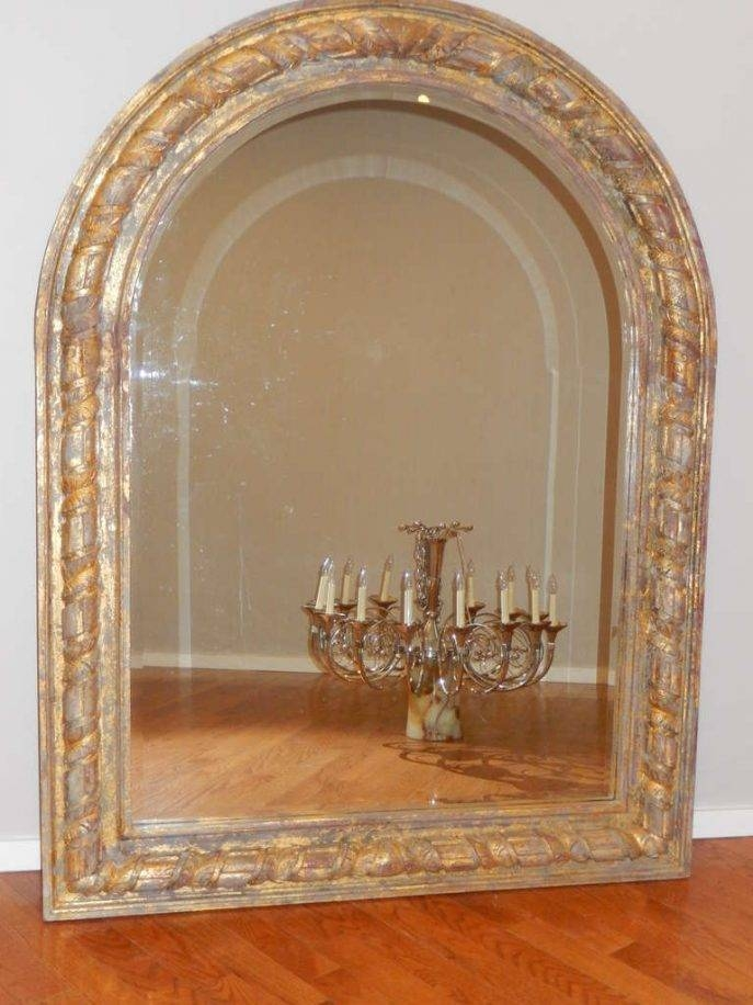 Viewing Photos of Antique Arched Mirrors (Showing 14 of 20 Photos)