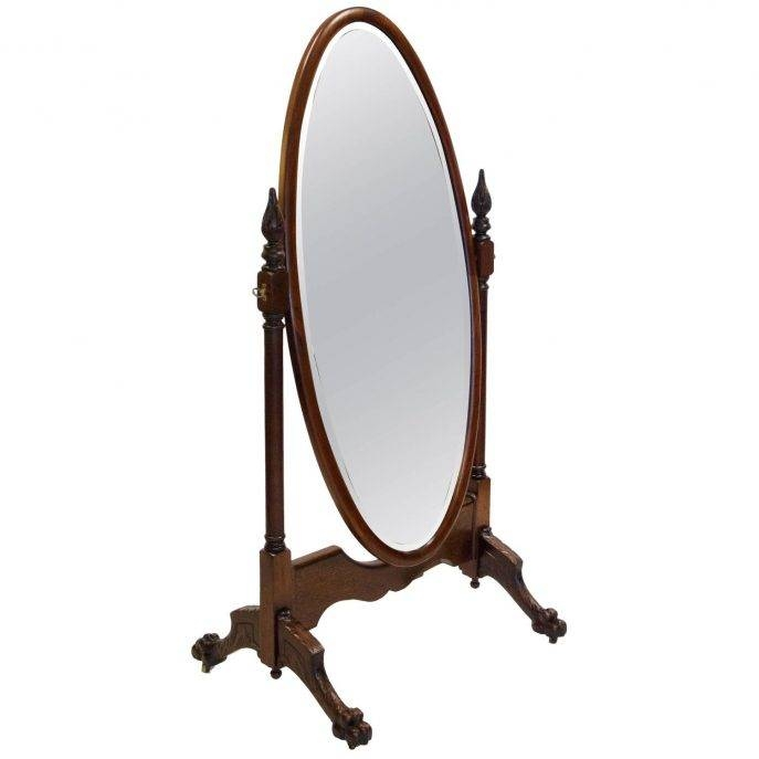 Flooring : Victorian Floor Mirrors And Full Length For Sale At Regarding Victorian Full Length Mirrors (#13 of 20)