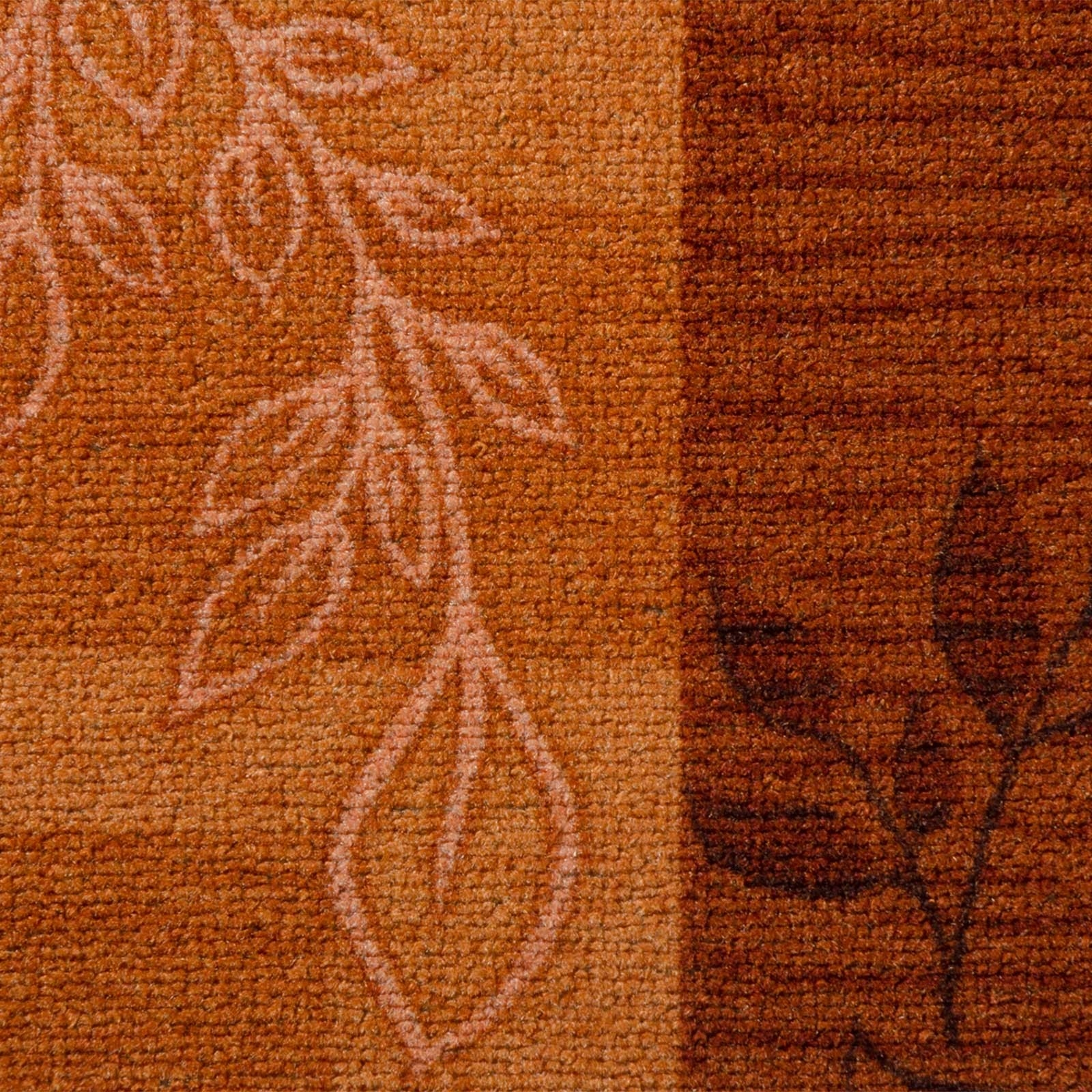 Floral Design Hallway Floor Runner Fully Customisable Pertaining To Hallway Runners Floral (#7 of 20)
