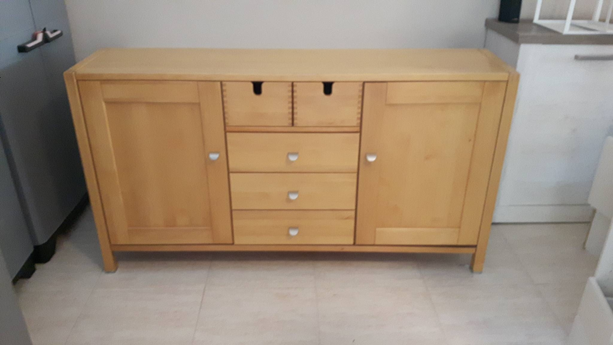For Sale: Solid Oak Sideboard – Buy And Sell Items In Los Dolses Within Oak Sideboard For Sale (#4 of 20)