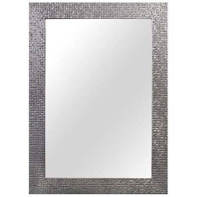 Framed – Bathroom Mirrors – Bath – The Home Depot With Regard To Glitzy Mirrors (View 13 of 20)