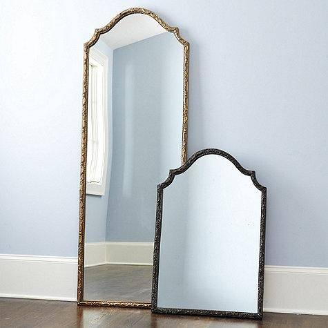 Framed Bronze And Black Mirror Inside Iron Framed Mirrors (#7 of 20)