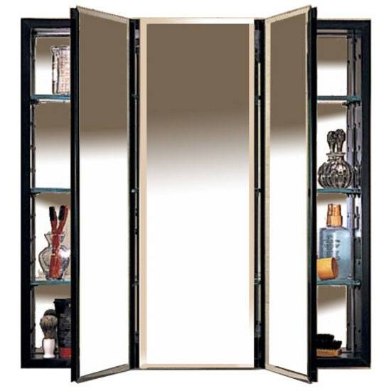 Framed, Frameless, Single & Multi Door Surface Mount Medicine Throughout Black Cabinet Mirrors (#23 of 30)
