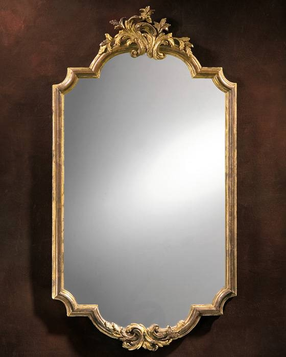 Framed Mirror And Baroque Framed Mirror With Silver Baroque Mirrors (#10 of 30)